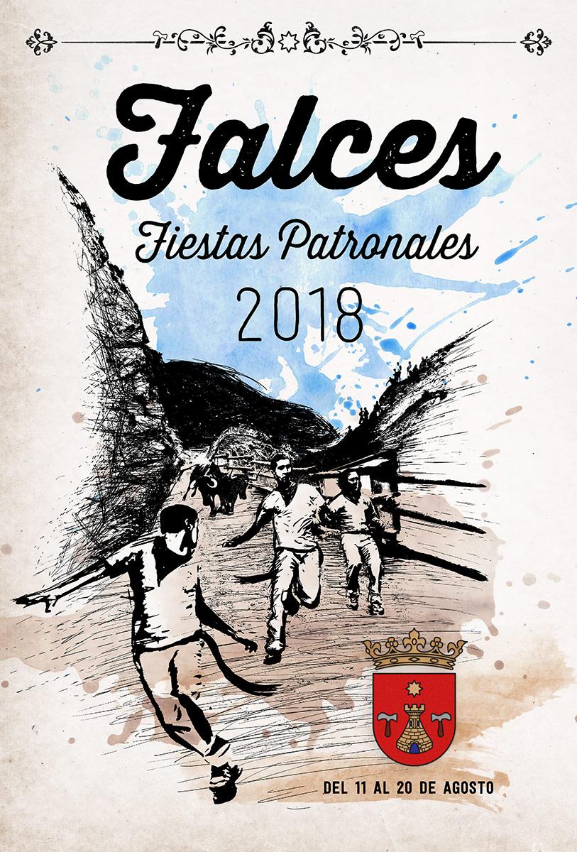 Cartel ganador Fiestas Falces 2018